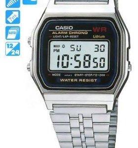 Часы Casio retro silver