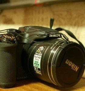 Фото и видеокамера с 42 кратным зумом