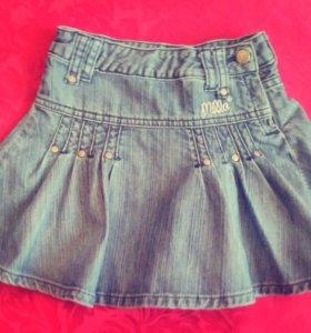 юбка джинсовая 98