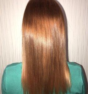 Кератиновое выпрямление, Ботокс и Полировка волос