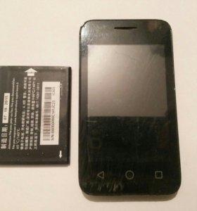 Системная плата + дисплей на Alcatel 4009D