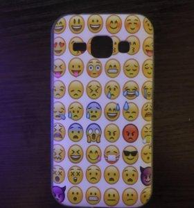Чехол и стекла на Samsung mini новые