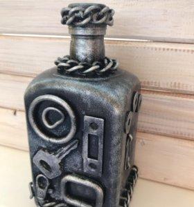 Оформление бутылок , рамок