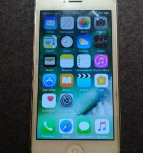 IPhone 5 16gb white РСТ РосТест