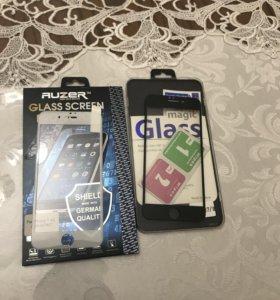 Защитные стекла айфон 7-8