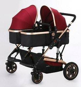 Детская коляска для двойни или погодок.