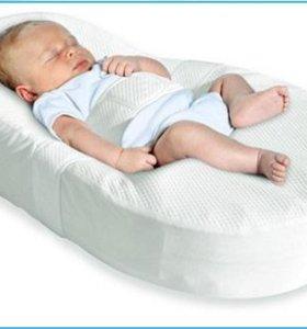 Колыбель кокон+ ортопедическая подушка для крохи