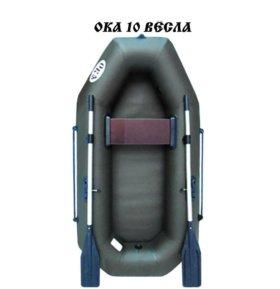 Лодка надувная ПВХ Ока 10 на веслах