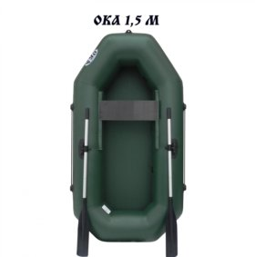 Лодка ПВХ Ока 1,5 М на веслах