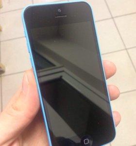 iPhone 5c blue 16gb lte