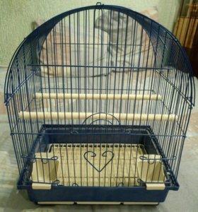 Клетка для птиц новая