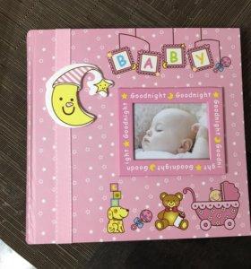 Фотоальбом для новорождённого