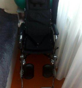 Кресло-коляска с высокой спинкой