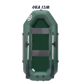 Лодка ПВХ Ока 12 М с возможностью установки мотора