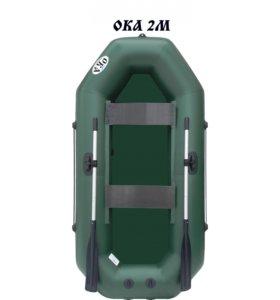 Лодка ПВХ Ока 2 М с возможностью установки мотора