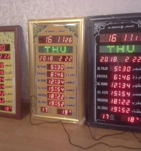 Часы настенные с азаном для мечети