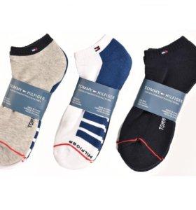 Tommy Hilfiger спортивные махровые носки с 39по46