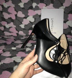 Новые туфли кожа