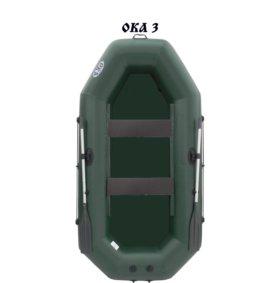Лодка ПВХ Ока 3 с возможностью установки мотора