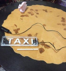 Продаю светящуюся рекламу такси