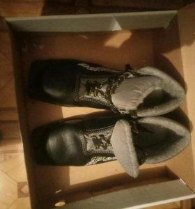 Коньки,лыжные ботинки