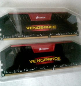 Шустрая DDR3 Corsair 16GB (2x8Gb)