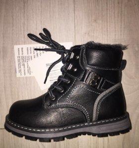 Ботинки новые 28 размер