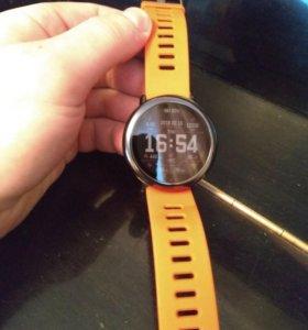 Фитнес-трекер Huami Amazfit Smart Watch (красный).