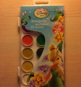 Акварель Медовая 18 цветов