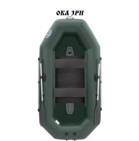 Лодка надувная ПВХ Ока 3 РН (с реечным настилом)