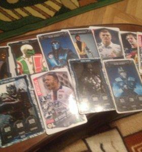 Продам карточки