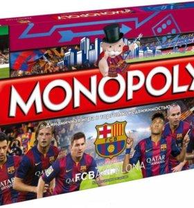 Монополия ФК Барселона (коллекционное издание)
