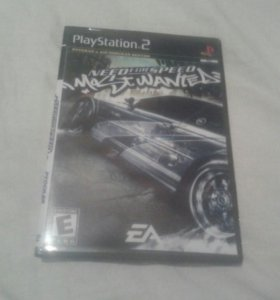 Игра на ps 2 ned for speed mostwanted новая