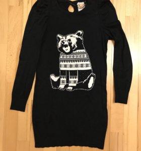 Трикотажное платье фирмы Pull&Bear (р.S)