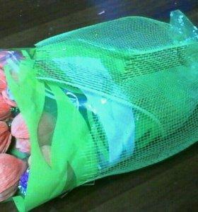 "Букет ""Тюльпаны""из конфет"