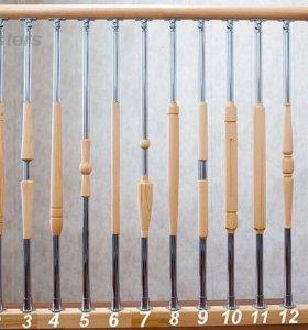 Элементы лестниц Балясины столбы поручни