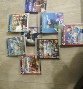 Диски от Ps3 8 разных игр