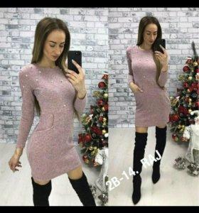 Платье ангоровое