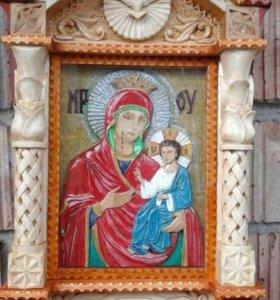 Икона Плачу щей Божьей Матери