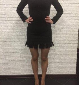 Платье, чёрное, вечернее