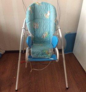 Детский стульчик-качеля