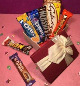 Подарочные наборы сладостей со всего мира!