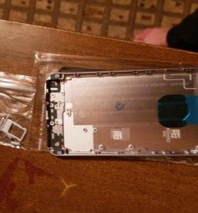 Корпус на айфон 6 серый