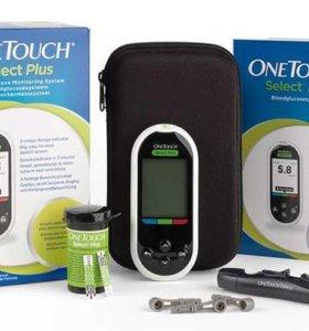Глюкометр One Touch select plus с Bluetooth