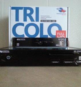 Ресиверы Триколор ТВ GS E501 и GS C591