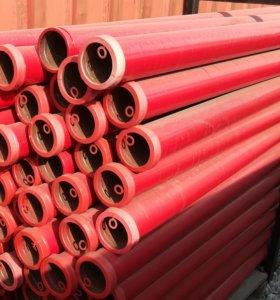 Бесшовная труба (125 мм) бетоновода