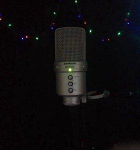 Конденсаторный USB-микрофон SAMSON G-TRACK