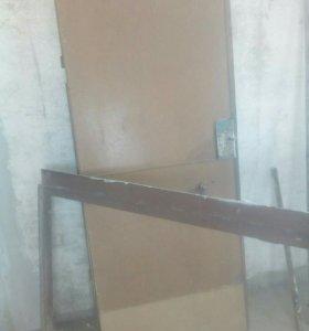 Дверь входная металл