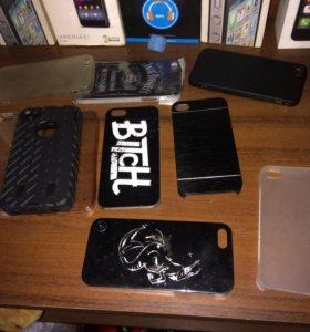 Чехлы на iPhone 4,4s,5,5s,SE