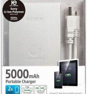 Внешний аккумулятор Sony CP-F5 (S) 5000 mAh
